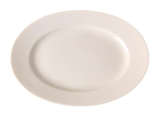 Platte oval - 360x260mm - Serie Gourmet